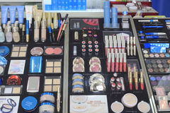 The Cosmetics Counter Royalty Free Stock Photography