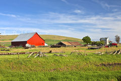 The Country Farm Eastern Washington State. Stock Photography