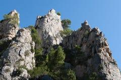 Free The Creek Of En-Vau Near Cassis - Bouches-du-Rhone France Stock Photos - 128906353
