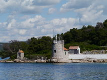 Free The Croatian Lighthouse On Babac Royalty Free Stock Images - 38831709