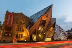 The Crystal In The Royal Ontario Museum, Toronto Stock Image