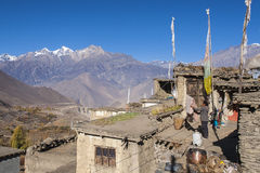 Free The Daily Life Of Villagers Jharkot Stock Photo - 98672460