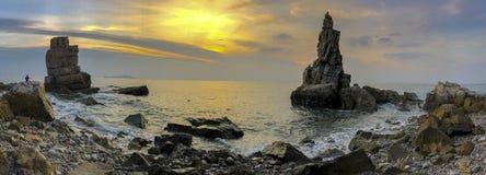 Free The Dalian`s Most Beautiful Coastline—Xihuzui General Stonemost Beautiful Coastline Of Dalian Royalty Free Stock Image - 172422356