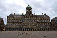 The Dam Square Stock Photography