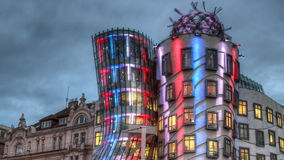 Free The Dancing House In Prague Stock Photography - 35705702