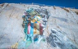 Free The David Multicolor By Kobra, Carrara, Tuscany, Italy Royalty Free Stock Image - 194628556