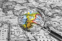 Free The Detail Of The Map Of Syria Royalty Free Stock Images - 83552529