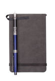 The Diary With A Blue Fountain Pen Royalty Free Stock Photos