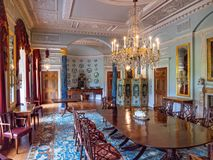 Free The Dining Room, Sledmere House, Yorkshire, England. Stock Image - 152751941