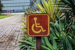 The Disabled Royalty Free Stock Images