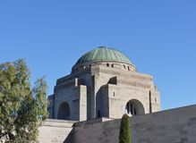 The Dome Of The Australian War Memorial Royalty Free Stock Image