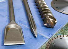 Free The Drill, Pica, Blade - A Set Of Nozzles For The Puncher.Still-life Stock Photography - 31573022