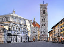 The Duomo And Baptistery Of St. John, Florence Stock Photography
