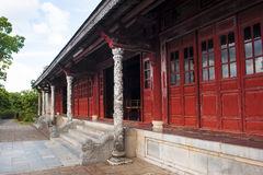 Free The Dylons Caving Of Dragon And The Red Door At Palace Of Supreme Harmony Stock Photos - 34664483