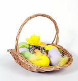 The Easter Basket Stock Image