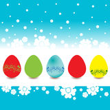 The Easter Eggs Stock Photos