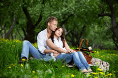 The Enamoured Couple Royalty Free Stock Photography