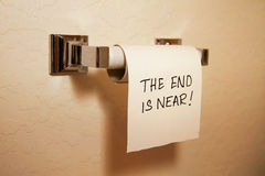 Free The End Is Near! Stock Images - 34198004