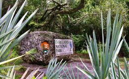 Free The Entrance Sign Of Everglades National Park. Royalty Free Stock Images - 186230679