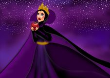 Free The Evil Queen Royalty Free Stock Photos - 111760868