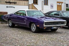 Free The Exhibition Of `US Car Classics`. Diedersdorf. Germany. Royalty Free Stock Image - 196441596
