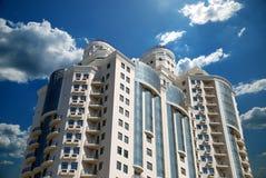 The Facade Of A Modern Building Stock Image
