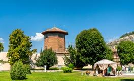 Free The Falcon Tower At Hansaray In Bakhchysarai, Crimea Stock Photo - 132752540