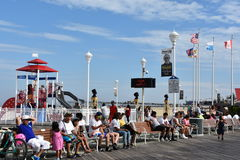 Free The Famous Boardwalk In Ocean City, Maryland Stock Photography - 99187912