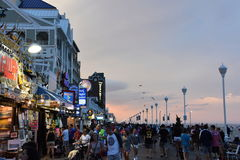 Free The Famous Boardwalk In Ocean City, Maryland Royalty Free Stock Image - 99238056