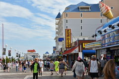Free The Famous Boardwalk In Ocean City, Maryland Stock Images - 99238124