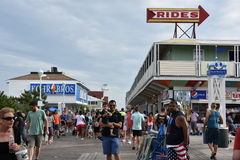 Free The Famous Boardwalk In Ocean City, Maryland Royalty Free Stock Images - 99238239