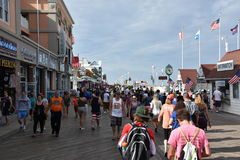 Free The Famous Boardwalk In Ocean City, Maryland Royalty Free Stock Photos - 99238288