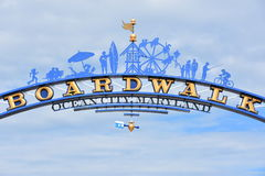 Free The Famous Boardwalk Sign In Ocean City, Maryland Royalty Free Stock Image - 99185606