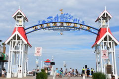Free The Famous Boardwalk Sign In Ocean City, Maryland Stock Images - 99185614