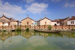 The Famous Daimei Ancient Village. Stock Photos