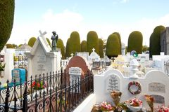 Free The Famous Design Of The Cemetery Of Punta Arenas Stock Image - 164237301
