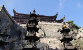 Free The Famous Mountains Of Chinese Buddhism Jiuhuashan Royalty Free Stock Photo - 95191895