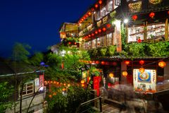 Free The Famous Old Teahouse In Jiufen, Taiwan Royalty Free Stock Images - 136874299