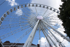 The Ferris Wheel In Atlanta, GA Stock Image