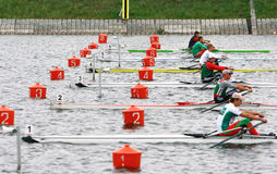 Free The Finals In Rowing. Royalty Free Stock Image - 18395116