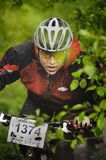 The First Escape, Mountain Bike Contest Held In Romania 2011 Royalty Free Stock Photo