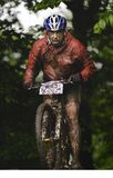 The First Escape, Mountain Bike Contest Held In Romania 2011 Stock Photography