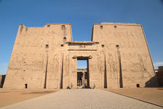 The First Pylon At Edfu Temple Royalty Free Stock Images