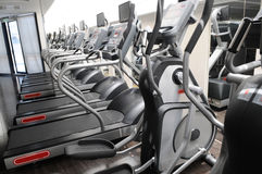 The Fitness Center. Royalty Free Stock Photo