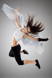 The Flying Girl Stock Photos