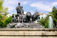Free The Fountain Of Cibeles At Colonia Roma In Mexico City Stock Photography - 123003842