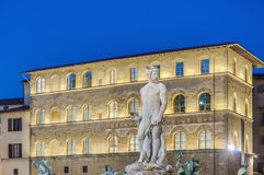 The Fountain Of Neptune In Florence, Italy Royalty Free Stock Photos