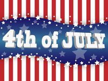 The Fourth Of July Stock Photo