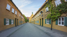 The Fuggerei Is The World S Oldest Social Housing Complex Still In Use Stock Images