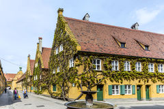The Fuggerei Is The Worlds Oldest Social Housing Complex Stock Photography